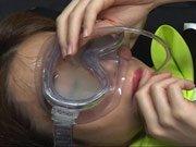 Cum on Goggles, Facial Humiliation & Cum Drinking...