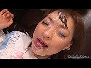 JAV Idol Yukiko Suou has sex before massive bukkak...
