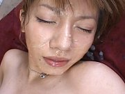 Aki Yatoh takes on several men and makes them cum...