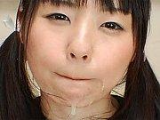 Kawaii cosplay girl Tsubomi wild semen play