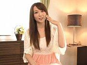 Hana Nonoka Asian with hot boobies tries to hide h...