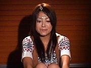 Saki Kataoka has cum dripping down her face during...