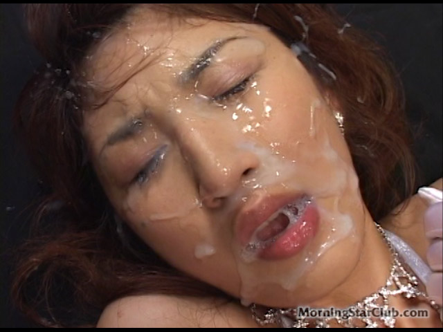 Extreme amature bukkaki facials