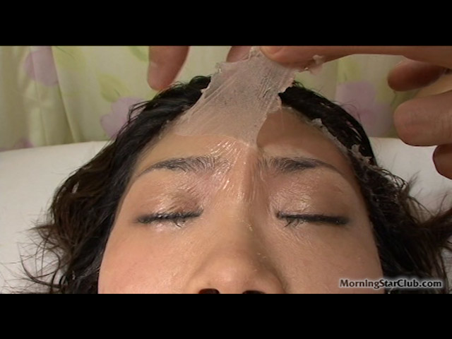 Every Try a Bukkake Jizz-Bomb Facial Peel? - Asuka Ohzora Has