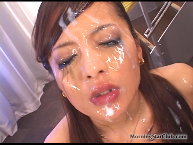 Glamorous Japanese Hottie Has an Ashi Fetish and Gang Bukkake Internal Lust