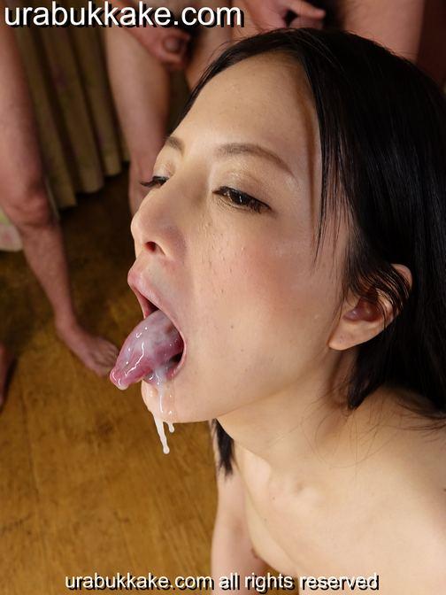 JAV Idol Miria Hazuki - Urabukkake - Bukkakeura.com
